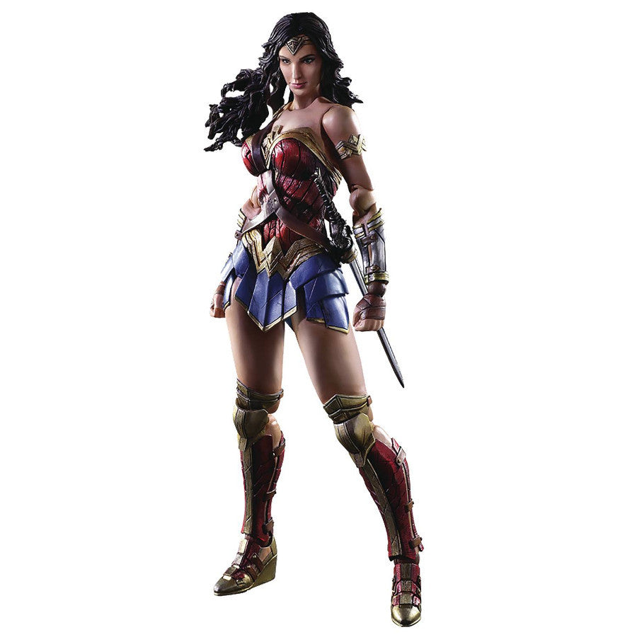Wonder Woman (Gal Gadot) - DC Comics Variant - Play Arts Kai - Square Enix - Woozy Moo