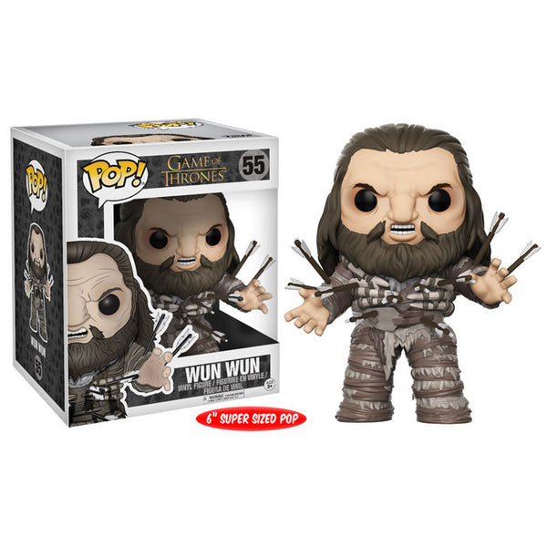 "Wun Wun with Arrows - Game of Thrones - 6"" super-sized Pop! Vinyl Figure - Funko - Woozy Moo"