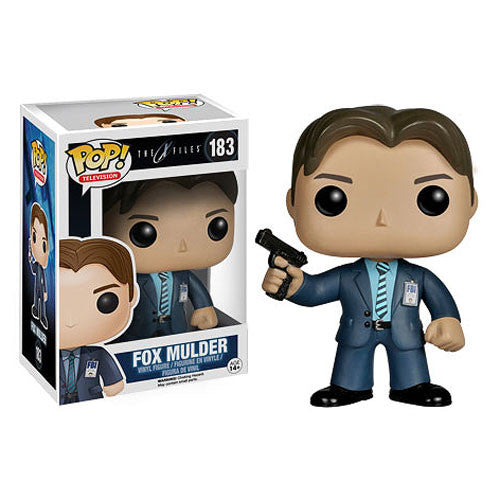 X-Files Fox Mulder Pop! Vinyl Figure - Funko - Woozy Moo