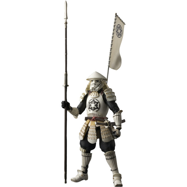 Yari Ashigaru Stormtrooper | Star Wars | Meisho Movie Realization | Bandai Tamashii Nations | Woozy Moo