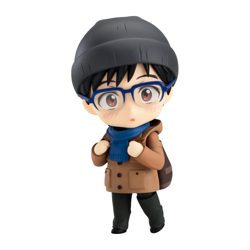 Katsuki Yuuri Casual Version (勝生勇利 しふくVer.) | Yuri!!! on Ice (ユーリ!!! on ICE, YŪRI!!! on ICE, YUURI!!! on ICE) | Nendoroid 848 | ORANGE ROUGE (GOOD SMILE COMPANY) | Woozy Moo