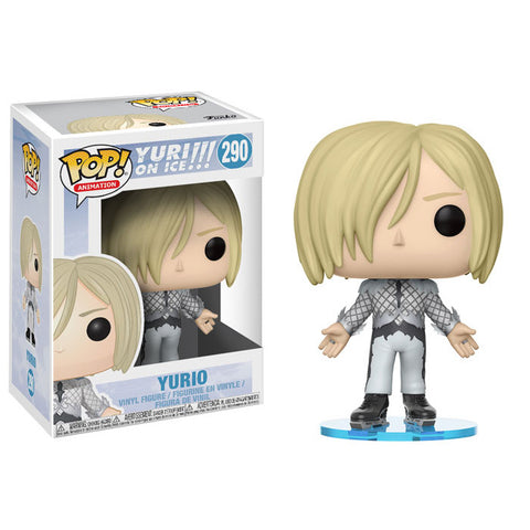 Yurio - Yuri on Ice - Pop Animation Vinyl Figure 290 (Yuuri Plisetsky, YUURI!!! on ICE)