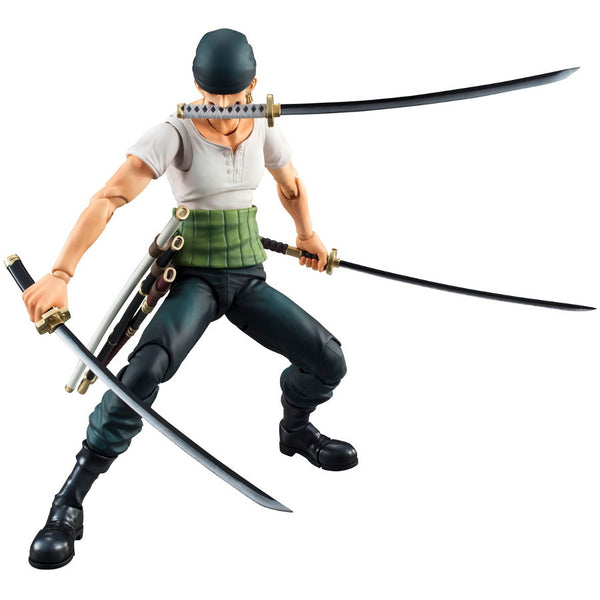 ZORO PAST BLUE - One Piece - VAH (Variable Action Heroes) - MegaHouse - Woozy Moo