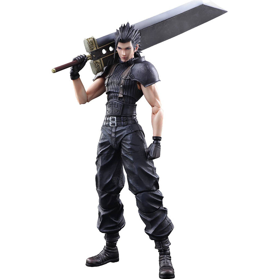 Zack Fair | Crisis Core: Final Fantasy VII (FF7CC) | Play Arts Kai Action Figure | Square Enix | Woozy Moo