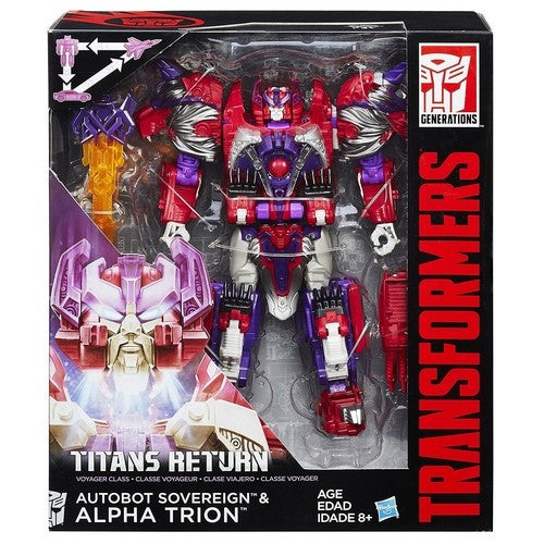 Transformers Titans Return Voyager Class - Alpha Trion and Sovereign - Hasbro - Woozy Moo - 1