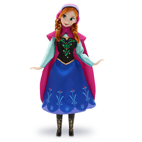 Disney: Frozen Anna Doll - Disney - Woozy Moo - 1