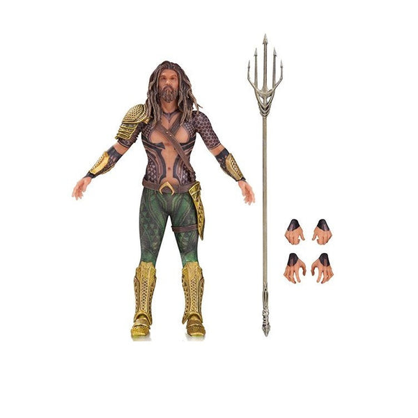 Batman vs Superman DC Films Premium 6'' Action Figure - Aquaman - DC Collectibles - Woozy Moo
