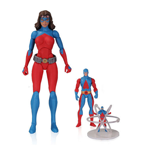 "DC Comics Icons Atomica 6"" Deluxe 3-pack Figure Set - DC Collectibles - Woozy Moo"