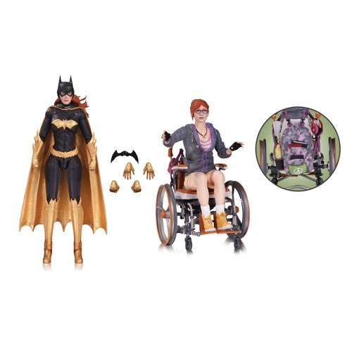 Batman Arkham Knight DC Comics: Batgirl & Oracle Two-Pack