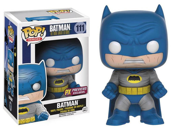 Batman The Dark Knight Returns - Blue Batman Pop! Vinyl Figure - Exclusive - Funko - Woozy Moo