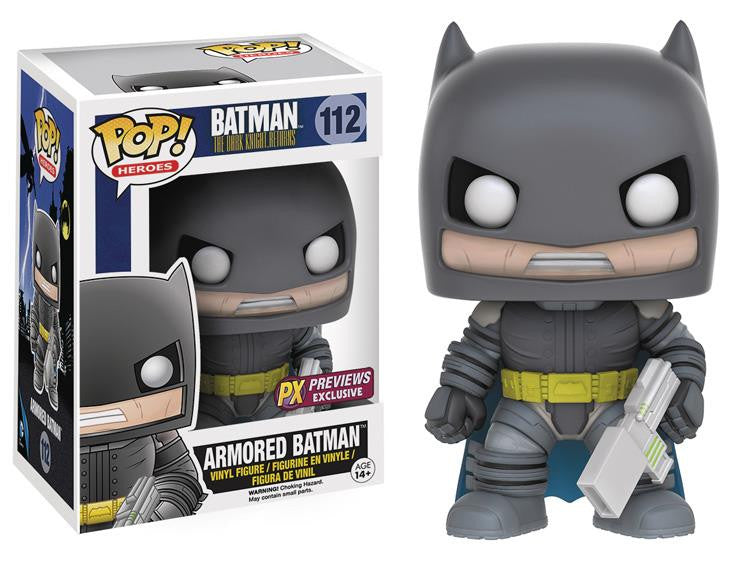 DC Pop! Vinyl Figure - Batman The Dark Knight Returns - Armored Batman - Exclusive - Funko - Woozy Moo