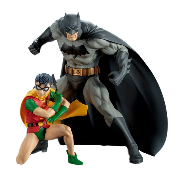 Batman and Robin - DC Comics - ArtFX+ Two-Pack - Kotobukiya - Woozy Moo - 1