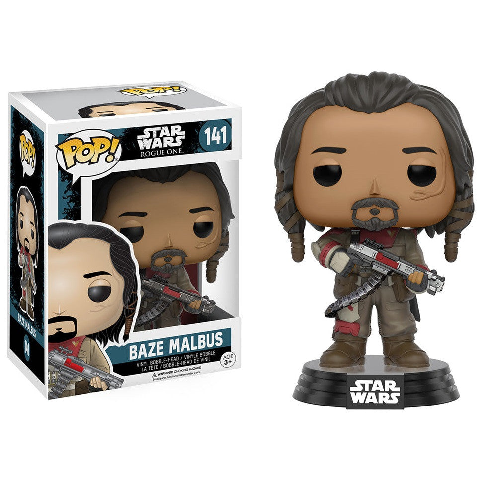 Star Wars Rogue One - Baze Malbus Pop! Vinyl Figure - Funko - Woozy Moo