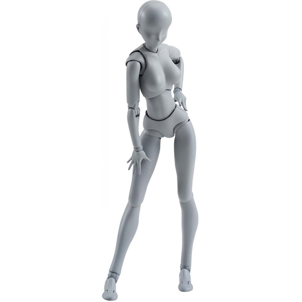 DIY Action Figure: S.H. Figuarts DX Body-Chan Set - Female (Gray) - Bandai - Woozy Moo - 1