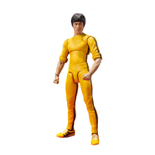 Bruce Lee - Yellow Track Suit - S.H. Figuarts - Bandai - Woozy Moo - 1