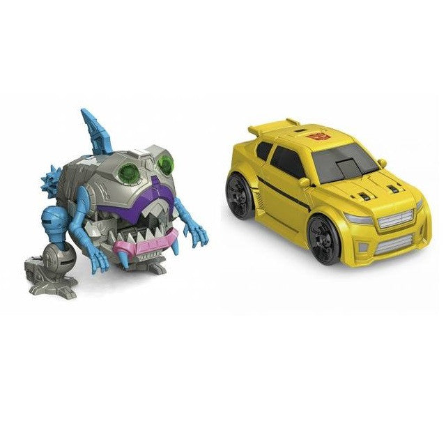 Transformers Titans Return Legends Class - Wave 3 Set - Bumblebee & Gnaw - Hasbro - Woozy Moo - 1