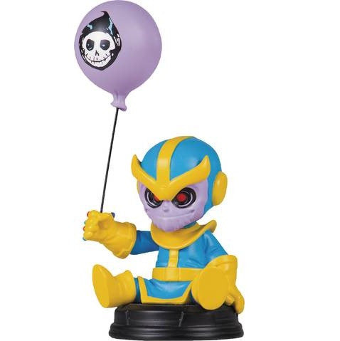 Marvel Animated Thanos Statue - Gentle Giant Skottie Young - Gentle Giant - Woozy Moo - 1