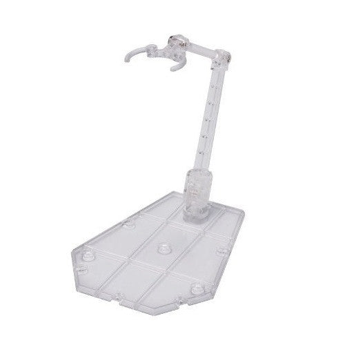 Tamashii Stage Act 5 Action Figure Stand Support - Clear - Bandai - Woozy Moo - 1
