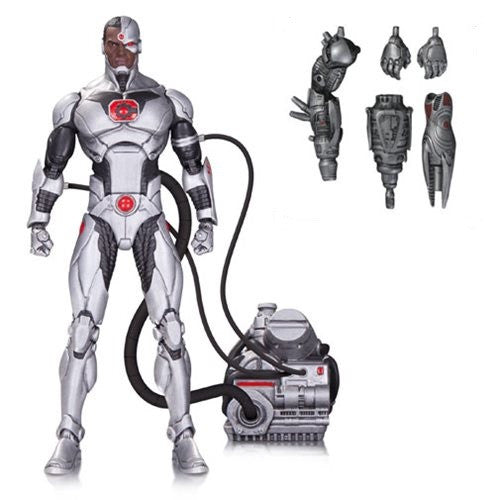 "DC Comics Icons Cyborg Justice League Forever Evil Deluxe 6"" Figure - DC Collectibles - Woozy Moo"
