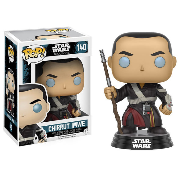 Star Wars Rogue One - Chirrut Imwe Pop! Vinyl Figure - Funko - Woozy Moo
