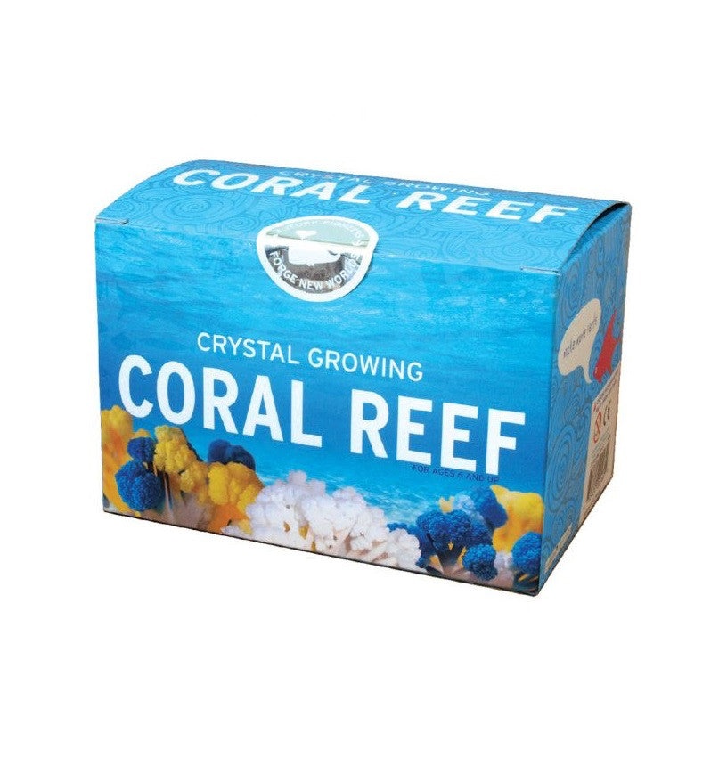 Crystal Growing Coral Reef - Copernicus - Woozy Moo - 1