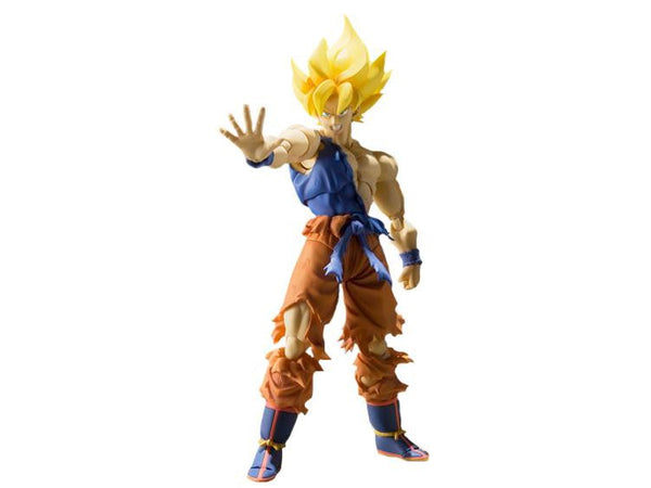 Dragon Ball Z: S.H. Figuarts - Super Saiyan Son Goku Warrior Awakening - Bandai - Woozy Moo - 1