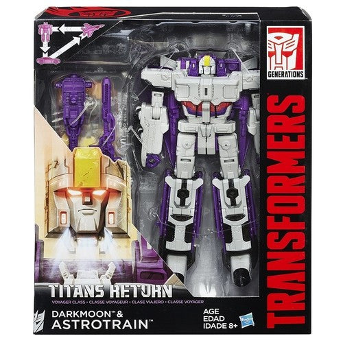Transformers Titans Return Voyager Class - Astrotrain and Darkmoon - Hasbro - Woozy Moo - 1