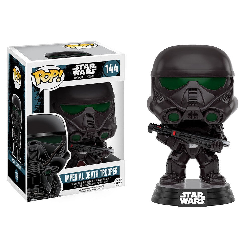 Star Wars Rogue One - Imperial Death Trooper Pop! Vinyl Figure - Funko - Woozy Moo