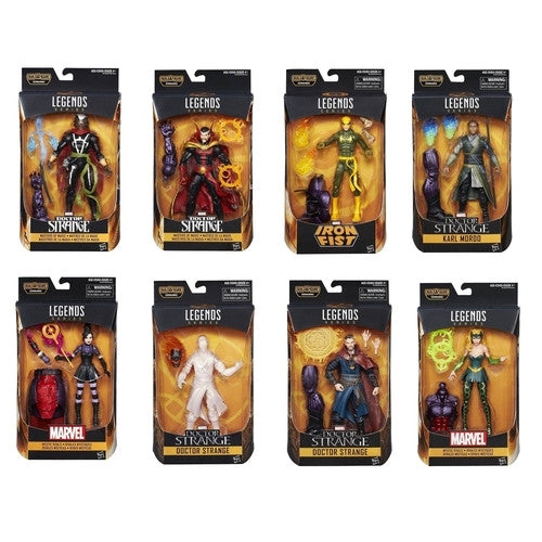 Marvel Legends - Dr. Strange 6'' Action Figures Wave Set of 8 - Hasbro - Woozy Moo - 1