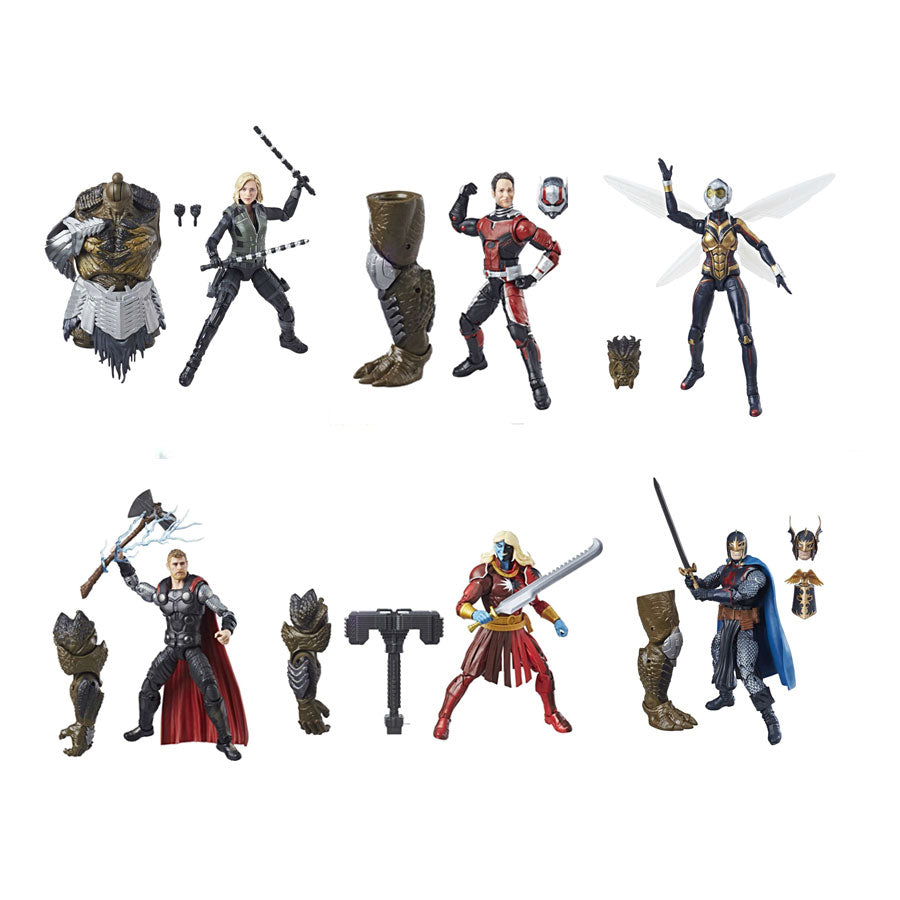 "Avengers Infinity War Wave 2 (Cull Obsidian BAF) Marvel Legends 6"" Action Figures Case of 6"
