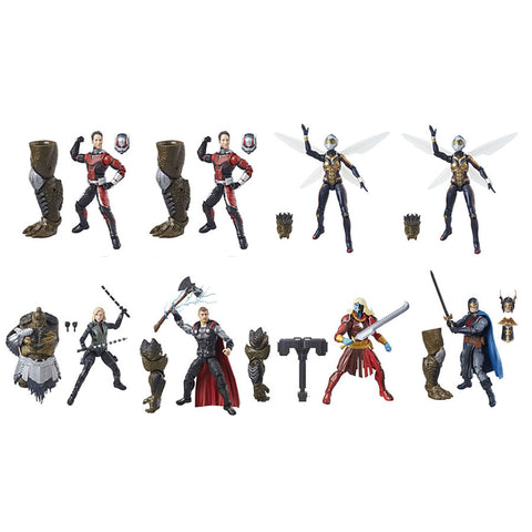"Avengers Infinity War Wave 2 (Cull Obsidian BAF) Marvel Legends 6"" Action Figures Case of 8"