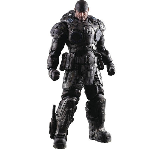 Gears of War - Play Arts Kai - Marcus Fenix - Square Enix - Woozy Moo - 1
