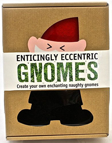 Enticingly Eccentric Gnomes: Create Your Own Naughty Gnomes - Parragon - Woozy Moo - 1