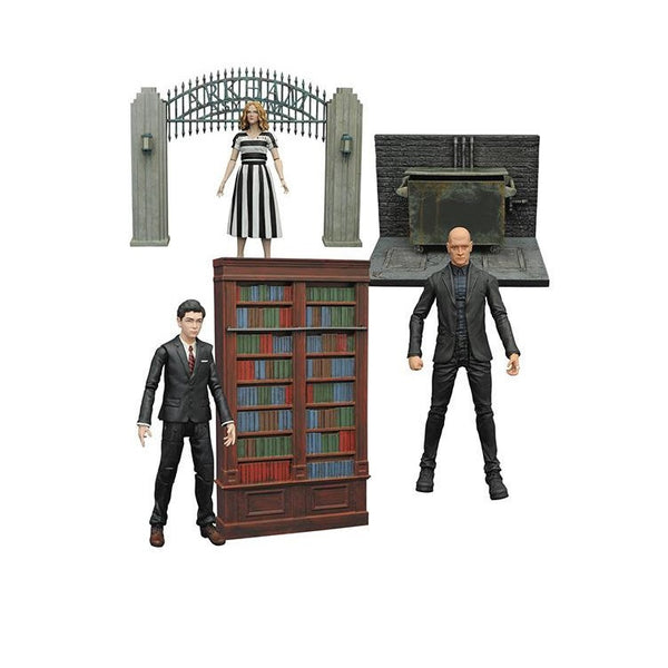 Gotham Select TV Series 3 Action Figure Set of 3 - Diamond Select - Woozy Moo