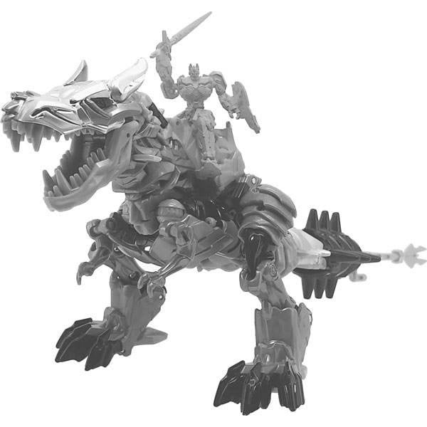 Transformers Movie 10th Anniversary Figure - Grimlock & Optimus Prime - MB-09 - Takara - Woozy Moo - 1