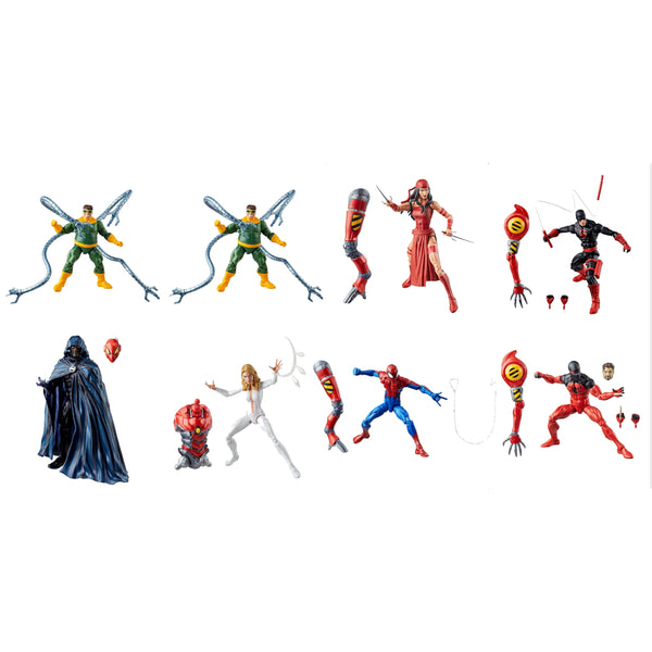 "Amazing Spider-Man Wave 10 (SP//dr BAF) Marvel Legends 6"" Action Figures Case of 8"