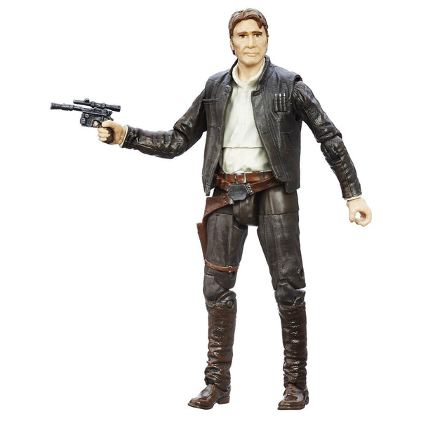 Star Wars: The Force Awakens Black Series Han Solo (Non-Mint) - Hasbro - Woozy Moo - 1