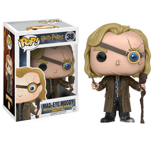 Harry Potter - Mad-Eye Moody Pop! Vinyl Figure - Funko - Woozy Moo