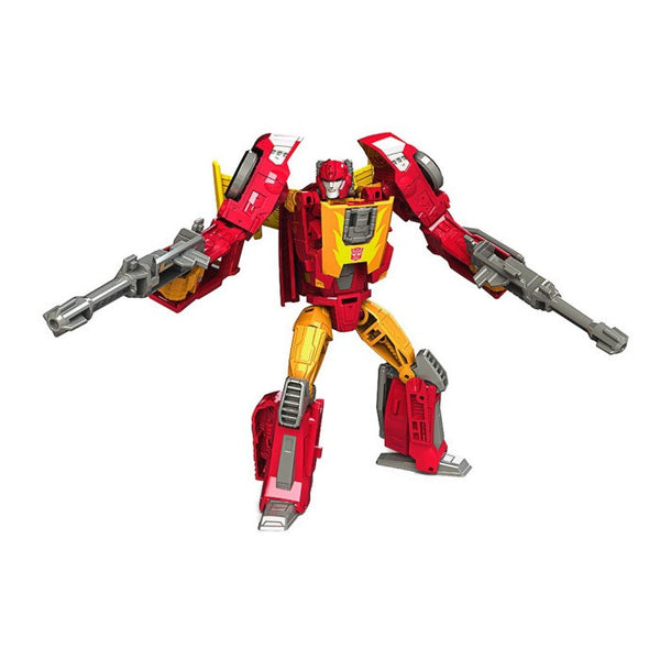 Transformers Titans Return Deluxe Class - Hot Rod - Hasbro - Woozy Moo - 1
