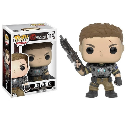 Gears of War - Armored JD Pop! Vinyl Figure - Funko - Woozy Moo
