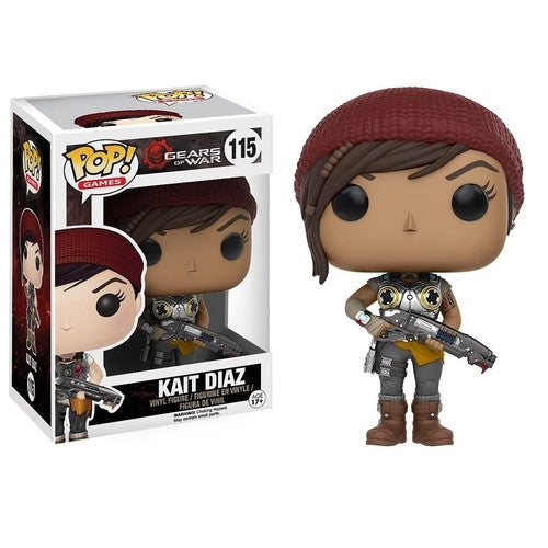 Gears of War - Armored Kait Pop! Vinyl Figure - Funko - Woozy Moo