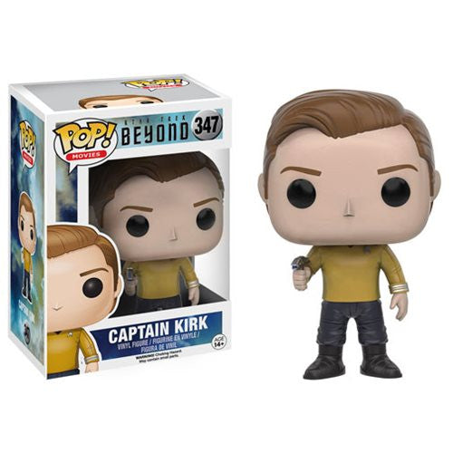 Star Trek Beyond Captain Kirk Pop! Vinyl Figure - Funko - Woozy Moo