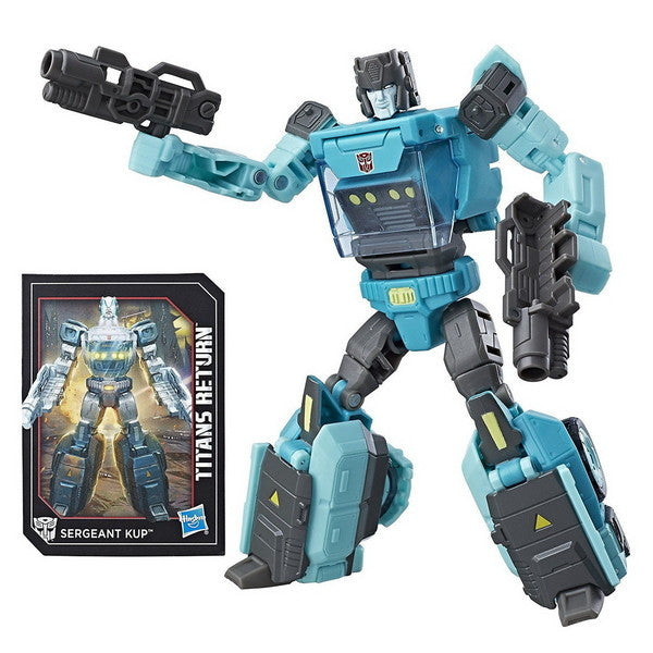 Transformers Generations Titans Return Deluxe Class - Sergeant Kup