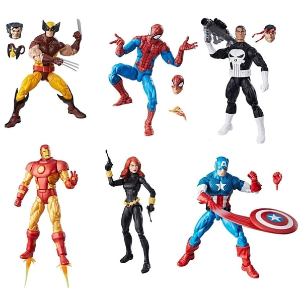 Marvel Legends Vintage Wave 1 Case of 6