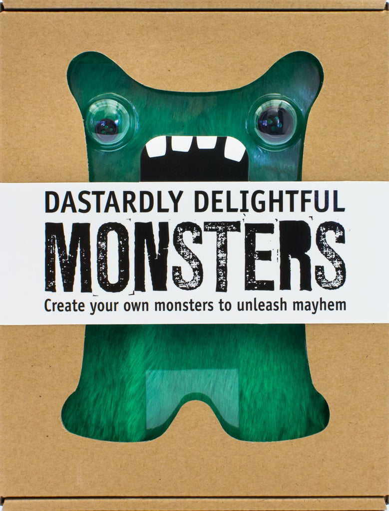 Dastardly Delightful Monsters: Create Your Own Monsters - Parragon - Woozy Moo - 1