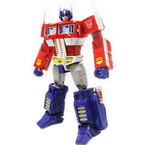 Transformers Masterpiece Optimus Prime with Trailer Reissue (MP-10) - Takara - Woozy Moo - 1
