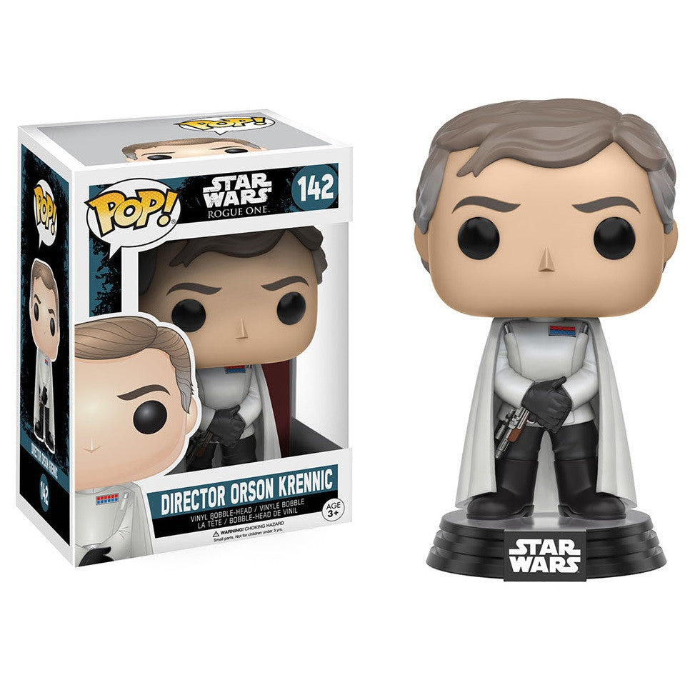 Star Wars Rogue One - Director Orson Krennic Pop! Vinyl Figure - Funko - Woozy Moo