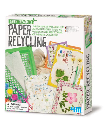 Paper Recycling Kit - 4M - Woozy Moo - 1