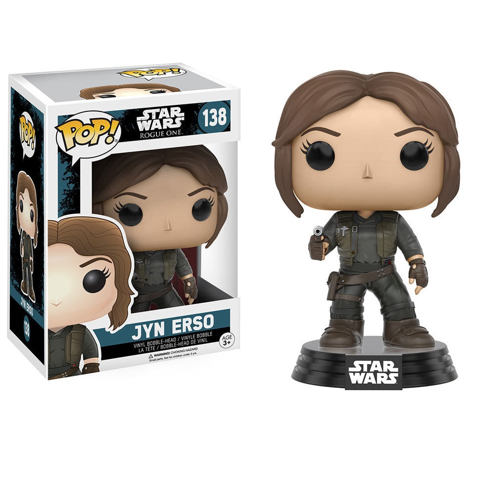 Star Wars Rogue One - Jyn Erso Pop! Vinyl Figure - Funko - Woozy Moo