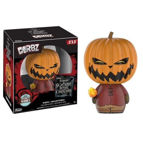 A Nightmare Before Christmas - Pumpkin King Dorbz Vinyl Figure Exclusive - Funko - Woozy Moo